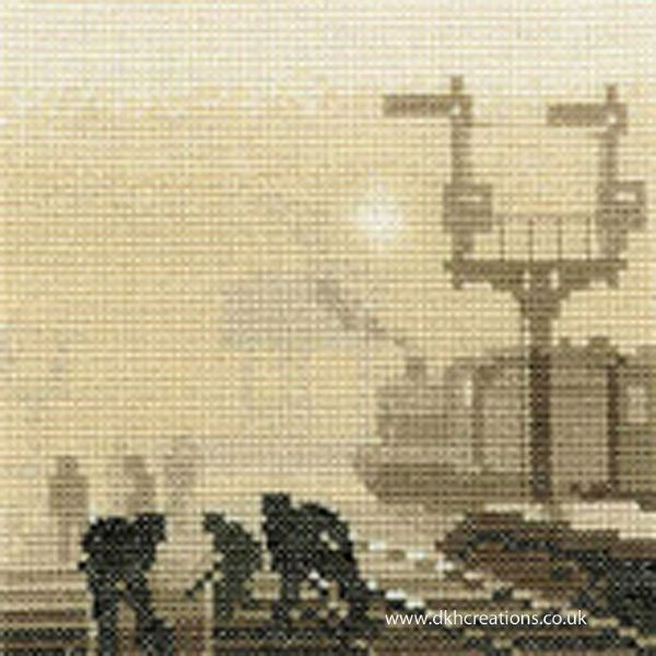 Steam Team Cross Stitch Kit